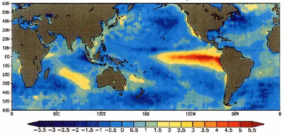 El Niño volta em 2014