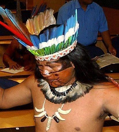 índios querem reunião com o governo do Brasil