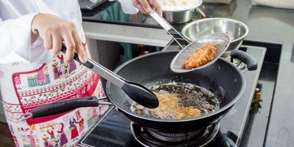 4 segredos para fritar com saúde