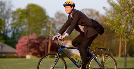 10.000 franceses são pagos para irem ao trabalho de bicicleta