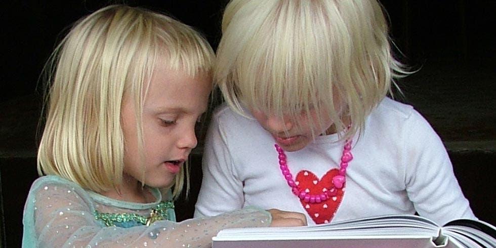 leitura em voz alta para crianças desde o nascimento