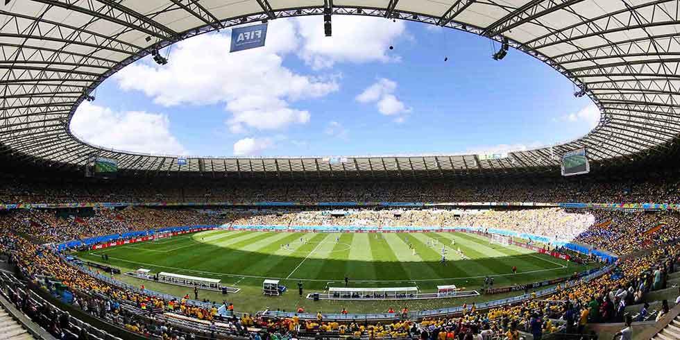 Mineirão é o segundo estádio do mundo