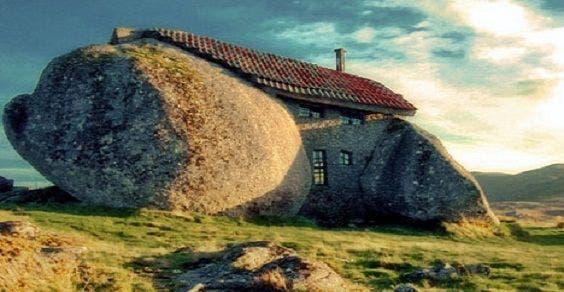 Casa Flintstones em Portugal