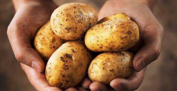 lavar e descascar um saco de batatas em menos de um minuto