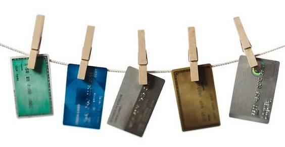 reciclar cartões de crédito