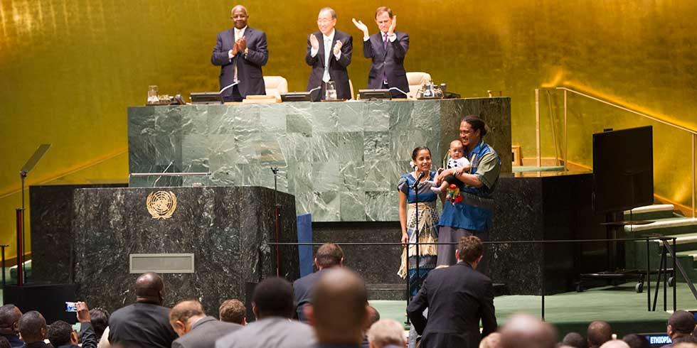 ONU sela acordo que busca desmatamento zero
