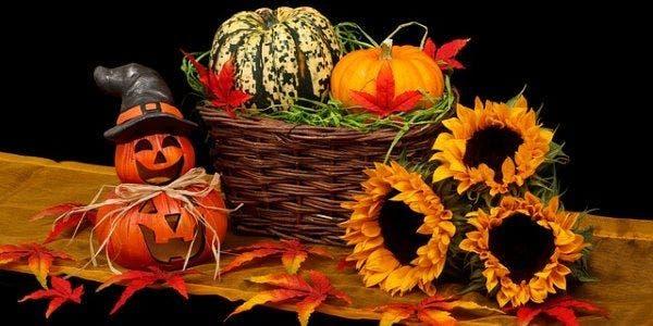 decorações para halloween