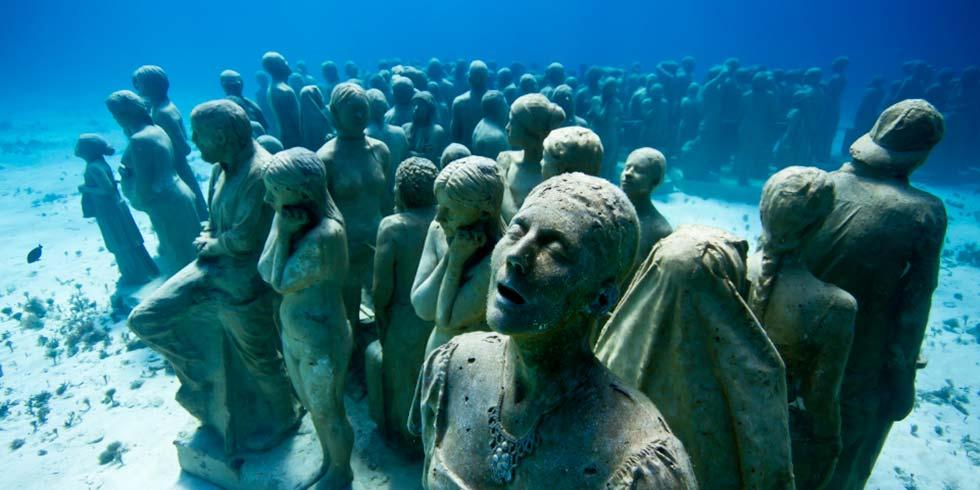 Jason Taylor esculturas submarinas