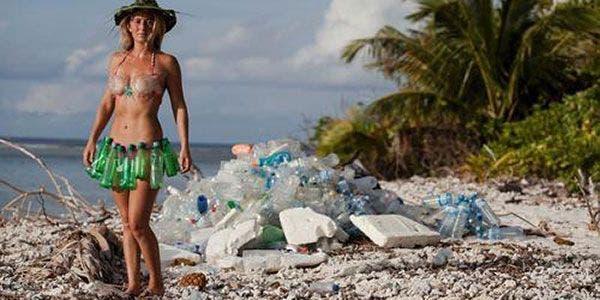 lixo de um pode ser o biquini