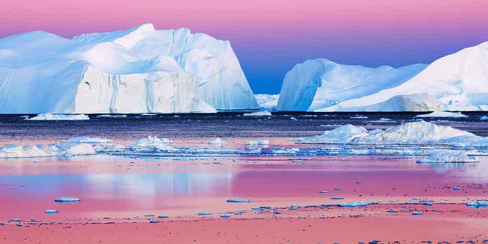 Antártica: ritmo de derretimento glacial
