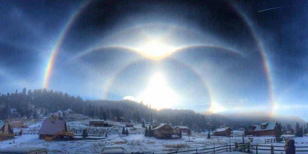 foto espetacular tirada no Novo México