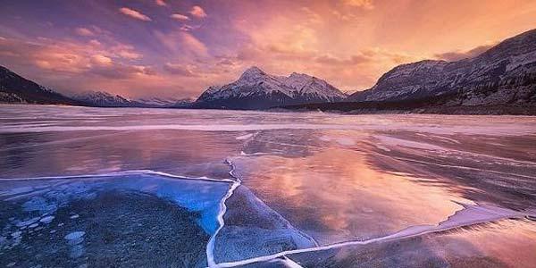 6 lagos congelados mais incríveis do mundo