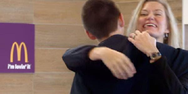 Pague o lanche com um abraço, anuncia Mc Donald´s