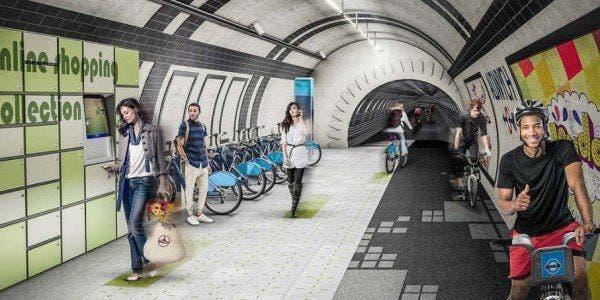 Linhas de metrô inutilizadas podem servir de ciclovia