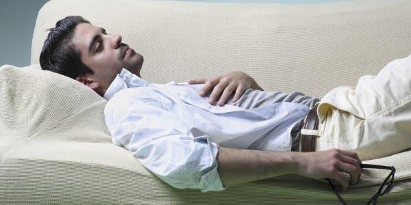 recuperar de uma noite sem dormir?