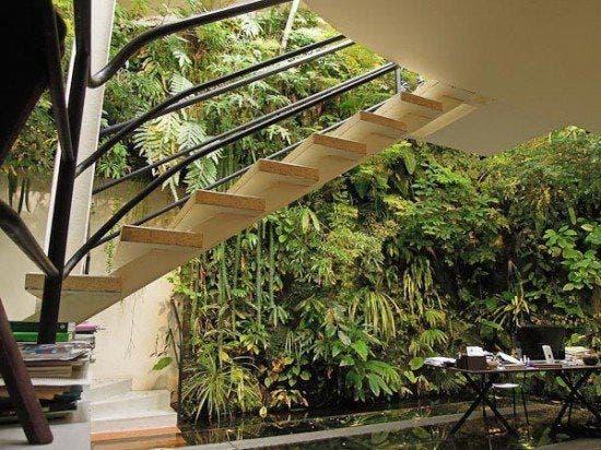Casa de Patrick Blank - escada