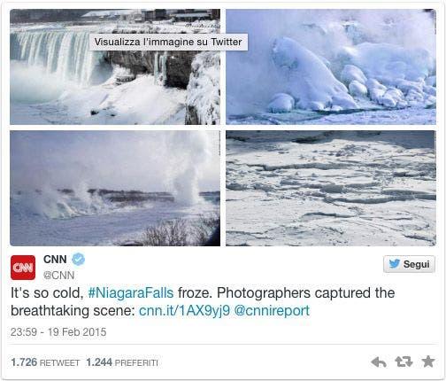 Fotos Cataratas Niágara congeladas