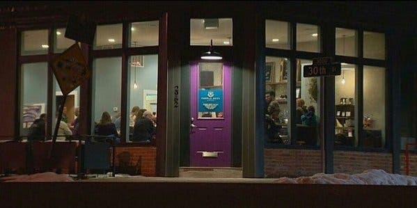 cafeteria que oferece trabalho aos sem-teto