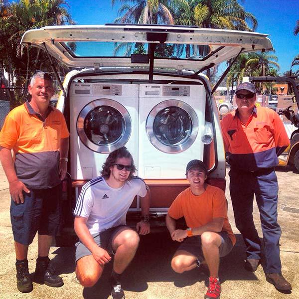 Equipe van-lavanderia
