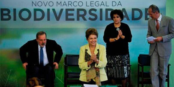 Dilma Rousseff veta seis pontos no PL da Biodiversidade