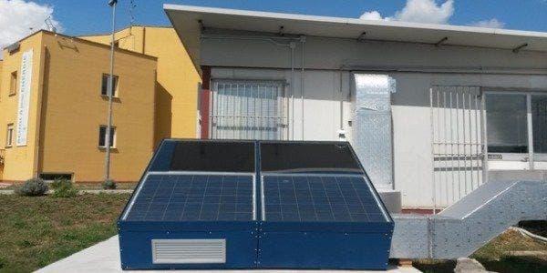 ar condicionado fotovoltaico