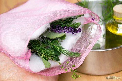 Travesseiro de ervas