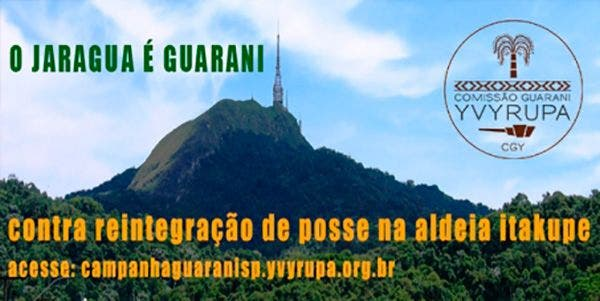 biodiversidade peticao guarani