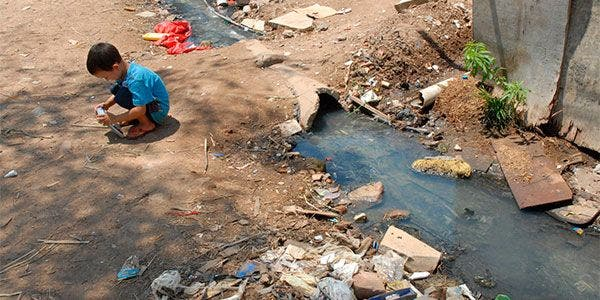 Brasil: saneamento básico e crianças
