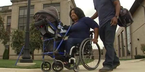 carrinho de bebe para mães com deficiência