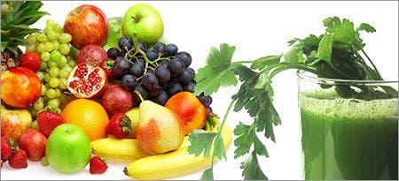 suco de couve com frutas