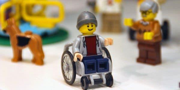 Lego cadeirante