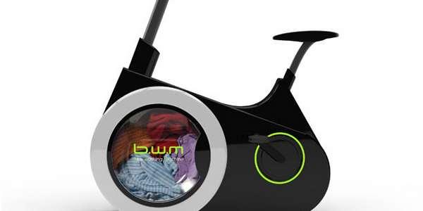 Bicicleta maquina de lavar roupas