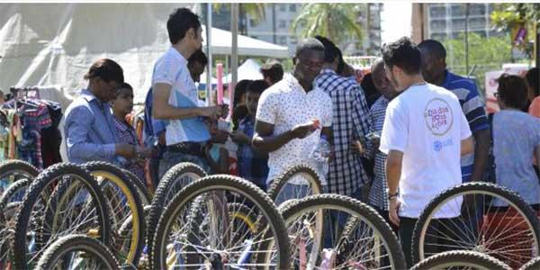 bicicletas refugiados
