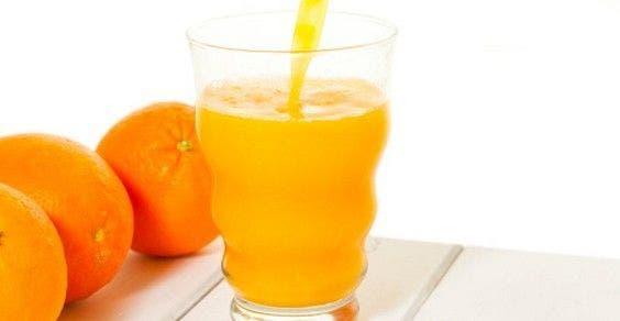 suco de laranja e limão