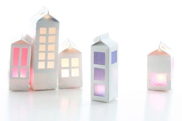 casinhas iluminadas