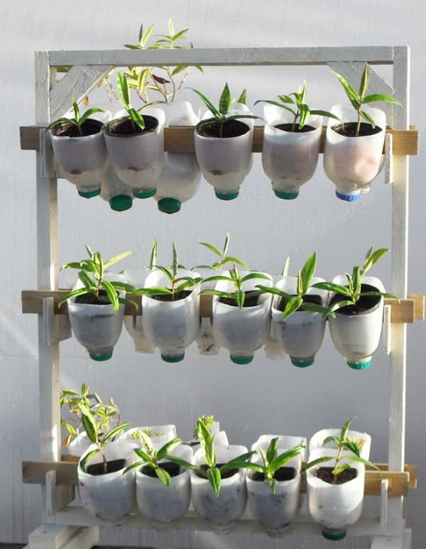economizando espaço no jardim