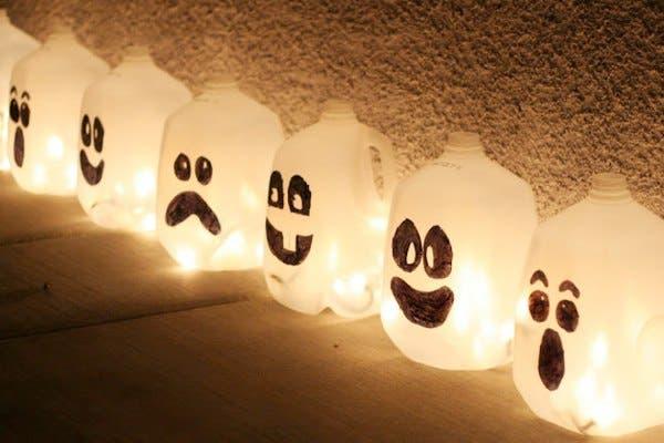 lanternas assustadoras