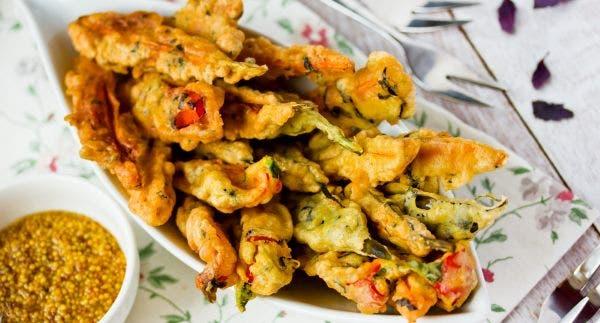 tempurá legumes crocante