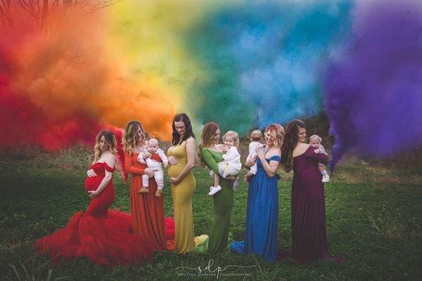 bebe arcoiris 1
