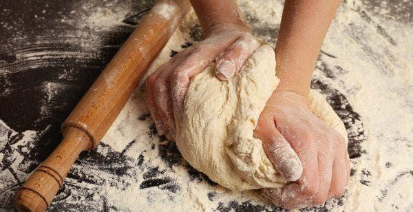 pão integral fermentado
