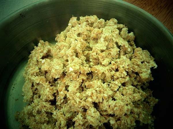 trigo germinado moido