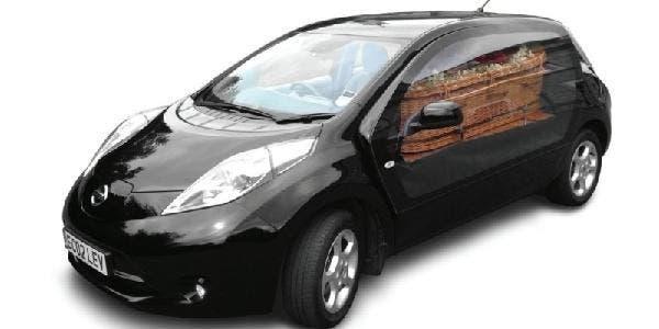 carro fúnebre elétrico