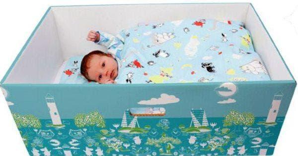 caixas de bebês