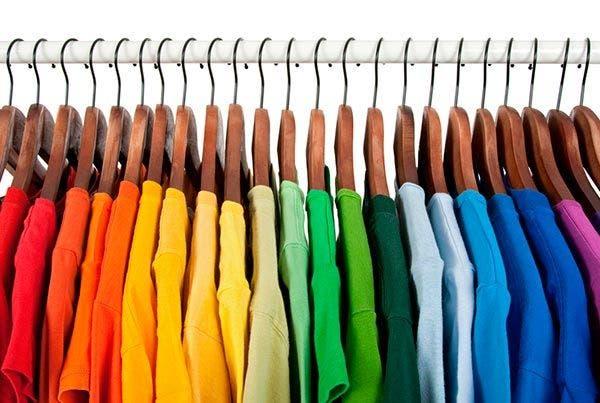 cor roupa cores