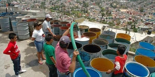 água do México