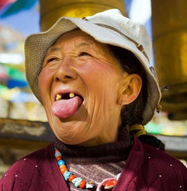 cumprimento tibete