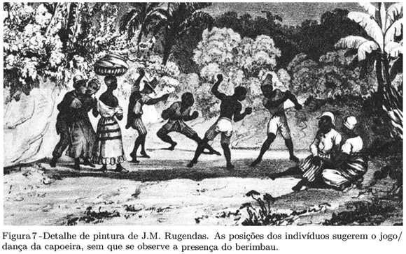 dança da capoeira