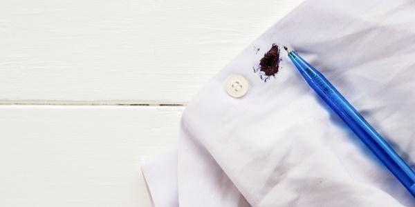 mancha de caneta