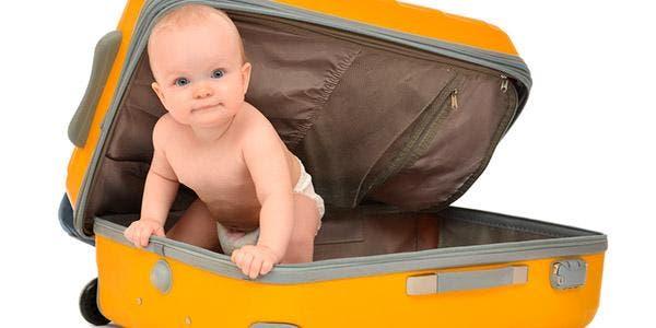 viajar com um bebê