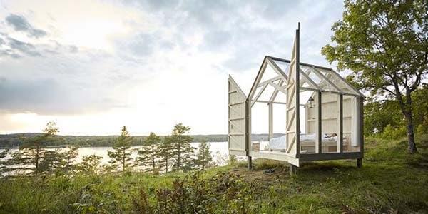 cabine de vidro